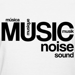 Music Noise Sound Women's T-Shirts - Women's T-Shirt