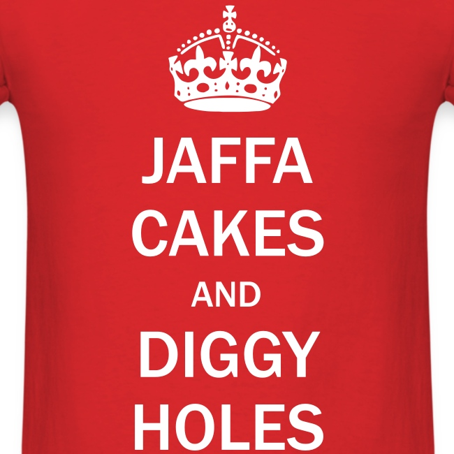 Mens Tee: Jaffa Cakes/Diggy Holes