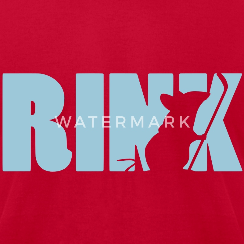 Rink Rat T-Shirts - Men's T-Shirt by American Apparel