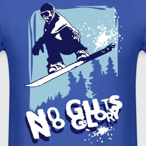 Snowboard glory T-Shirts - Men's T-Shirt