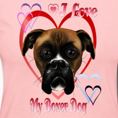 I Love  My Boxer Dog