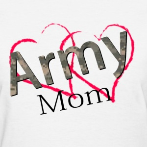 army mom Women's T-Shirts - Women's T-Shirt