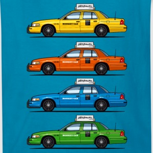 Color Taxi Cabs Crown Vic Kids' Shirts - Kids' T-Shirt