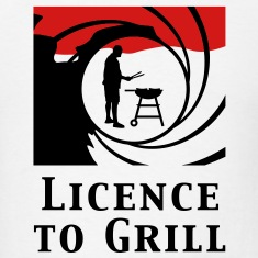 licence_to_grill_112011_b_2c T-Shirts