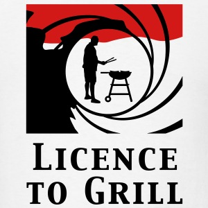 licence_to_grill_112011_b_2c T-Shirts - Men's T-Shirt