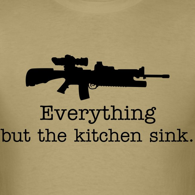 Everything but the kitchen sink AR15