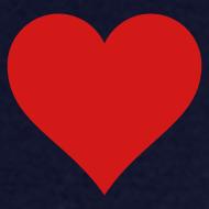Design ~ Men's Standard Heart T-Shirt