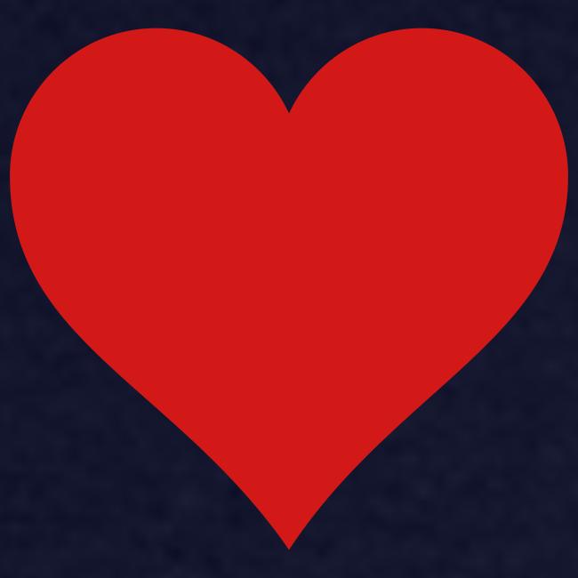 Men's Standard Heart T-Shirt