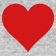 Design ~ Heart Men's SweatShirt