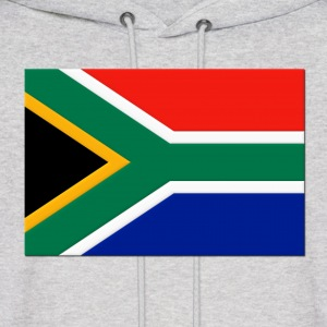 South Africa Flag Hoodies - Men's Hoodie