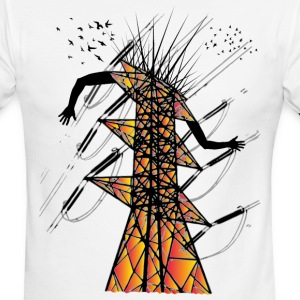High voltage - Men's Ringer T-Shirt