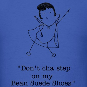 Bean Suede Shoes - Men's T-Shirt