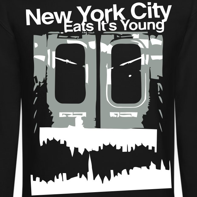 NYC EATS ITS YOUNG CREWNECK