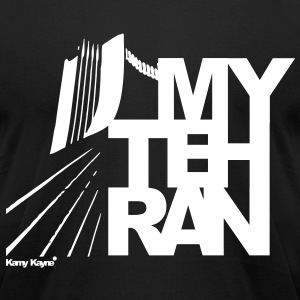 My Tehran - Men's T-Shirt by American Apparel