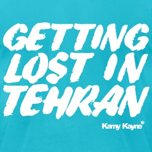 Lost in Tehran T-Shirts - Men's T-Shirt by American Apparel