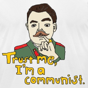 Men's Trust me, I'm a communist t-shirt - Men's T-Shirt by American Apparel