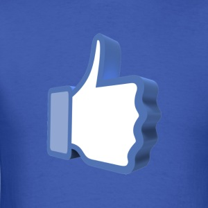 Facebook Thumbs Up Tee - Men's T-Shirt