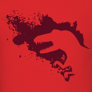 Dino splash T-Shirts - Men's T-Shirt
