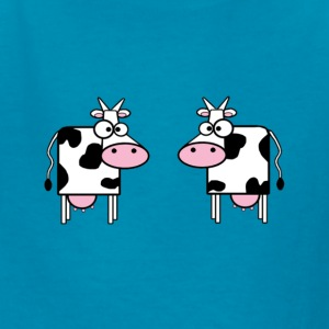 Two Cows - Kids' T-Shirt
