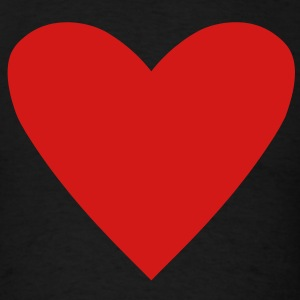 Card Suit - Heart T-Shirts - Men's T-Shirt