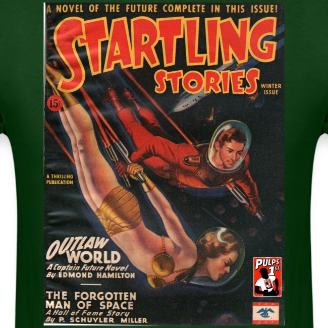 Startling Stories with Captain Future Winter 1945