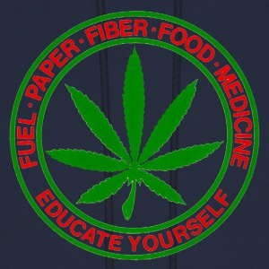 Fuel, Paper, Fiber, Food, Medicine - CANNABIS Hoodies - Men's Hoodie