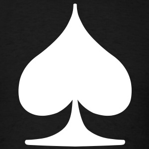 Card Suit - Spade T-Shirts - Men's T-Shirt