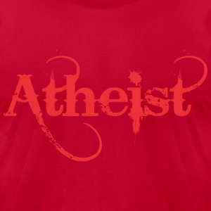 Atheist - Men's T-Shirt by American Apparel