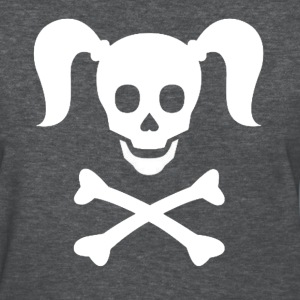Girlie Pirate - Women's T-Shirt