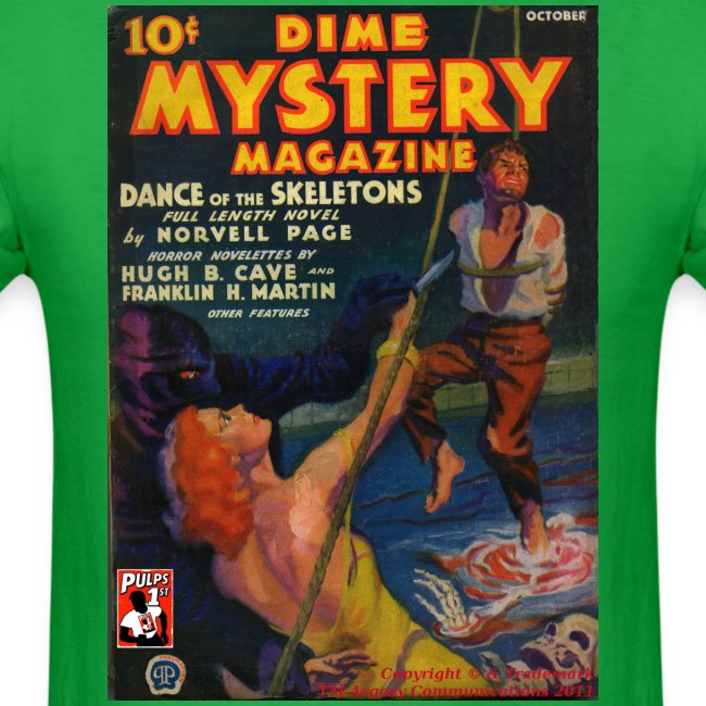 Dime Mystery Oct 1933