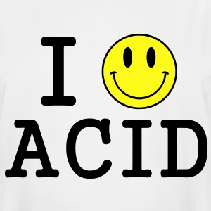 I love Acid / LSD / Drugs T-Shirts - Men's Tall T-Shirt