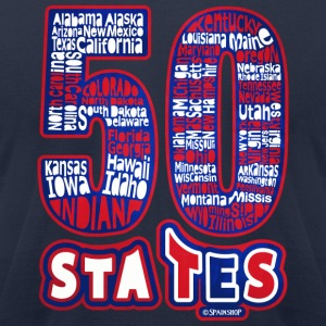 50_states T-Shirts - Men's T-Shirt by American Apparel