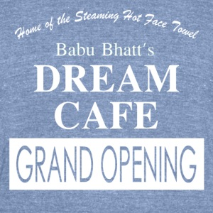 Babu Bhatt's DREAM CAFE (Seinfeld) - Unisex Tri-Blend T-Shirt by American Apparel