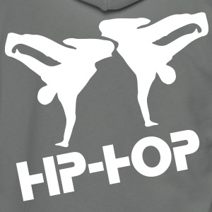 BBOY HIPHOP MUSIC DANCE Unisex Fleece Zip Hoodie by American Apparel - Unisex Fleece Zip Hoodie by American Apparel