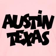 Design ~ Austin Texas Kid's T-Shirt