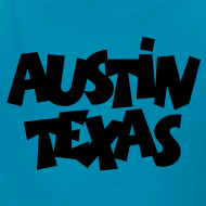 Design ~ Austin Texas Kid's T-Shirt