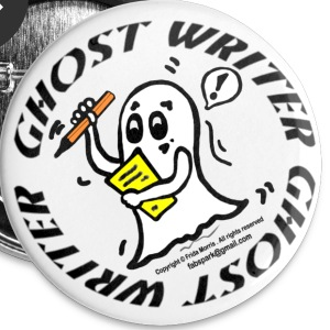 Ghost Writer  - Small Buttons