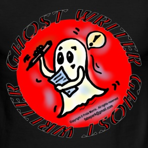 Ghost Writer  - Men's Ringer T-Shirt