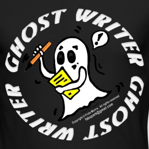 Ghost Writer  - Men's Long Sleeve T-Shirt by Next Level