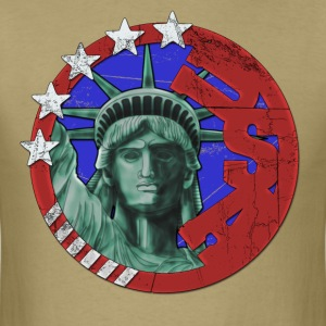 USA United States of America Tribute T-Shirts - Men's T-Shirt