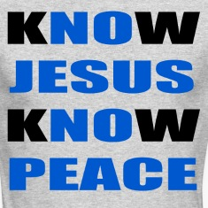 knowjesusknowpeace Long Sleeve Shirts