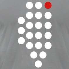 Chicago, IL - Abstract Dots T-Shirts