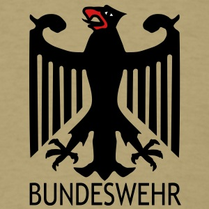 patch2_eagle_bundeswehr_vec_3 T-Shirts - Men's T-Shirt