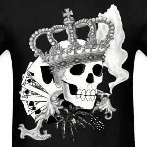 king_skull - Men's T-Shirt