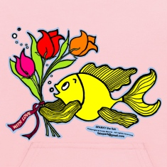 With Love, Fish with Flowers, Sparky the fish