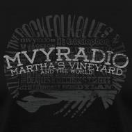 Design ~ mvyradio Artist Names - distressed