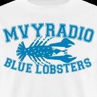 Design ~ mvyradio blue lobsters