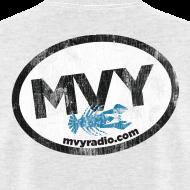 Design ~ mvyradio giant euro sticker (on back)
