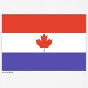 White Canada Netherlands T-Shirts - Men's T-Shirt