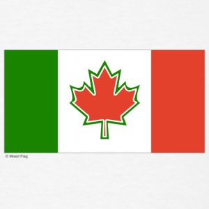 White canada italy T-Shirts - Men's T-Shirt